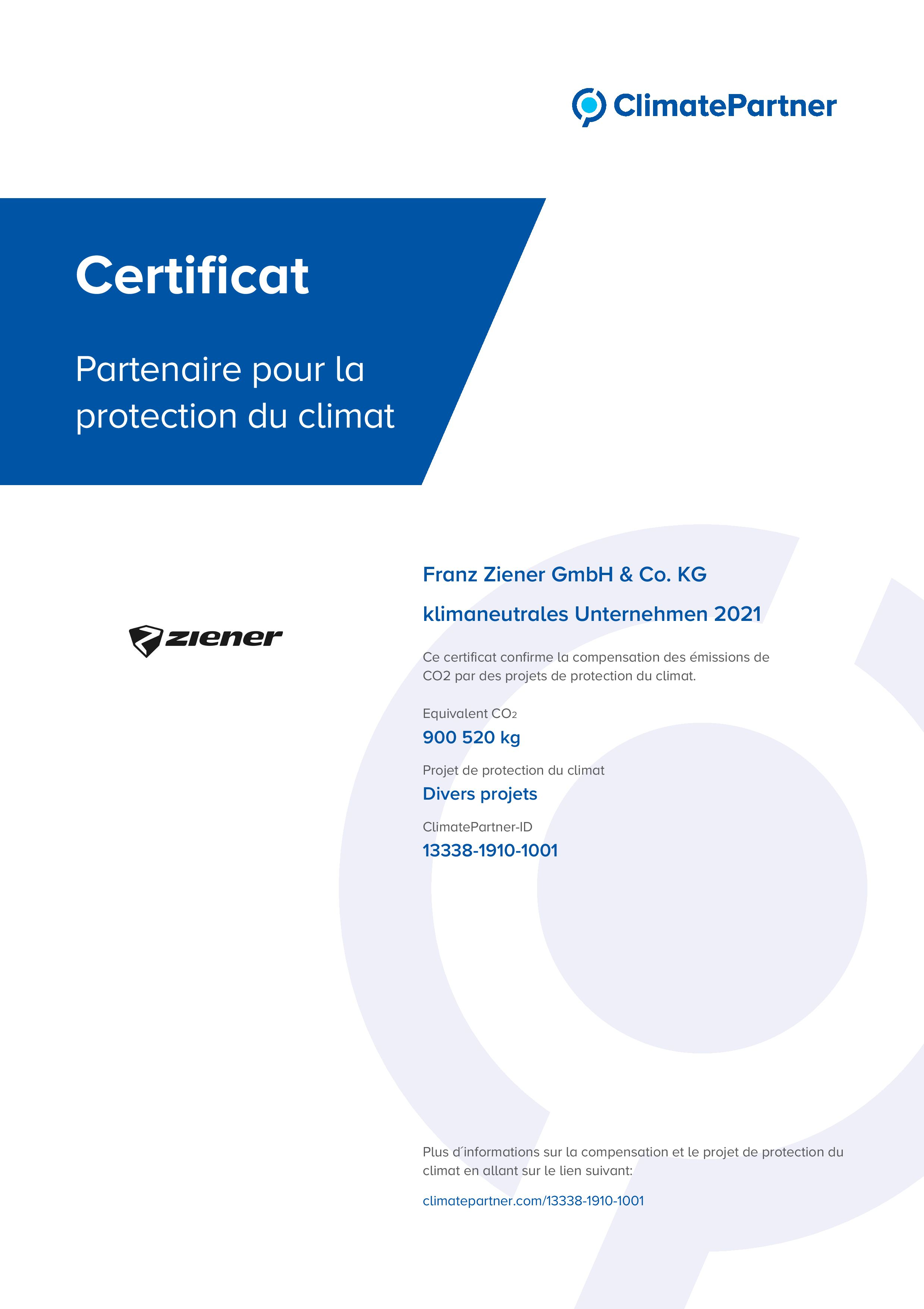 13338 1910 1001 Collective Certificat fr