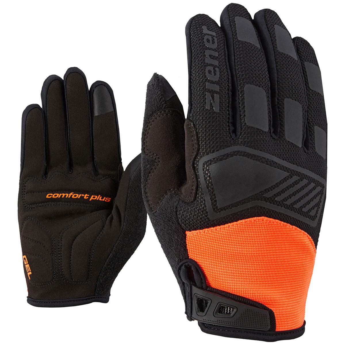 camet touch long bike glove ziener gloves skiwear. Black Bedroom Furniture Sets. Home Design Ideas