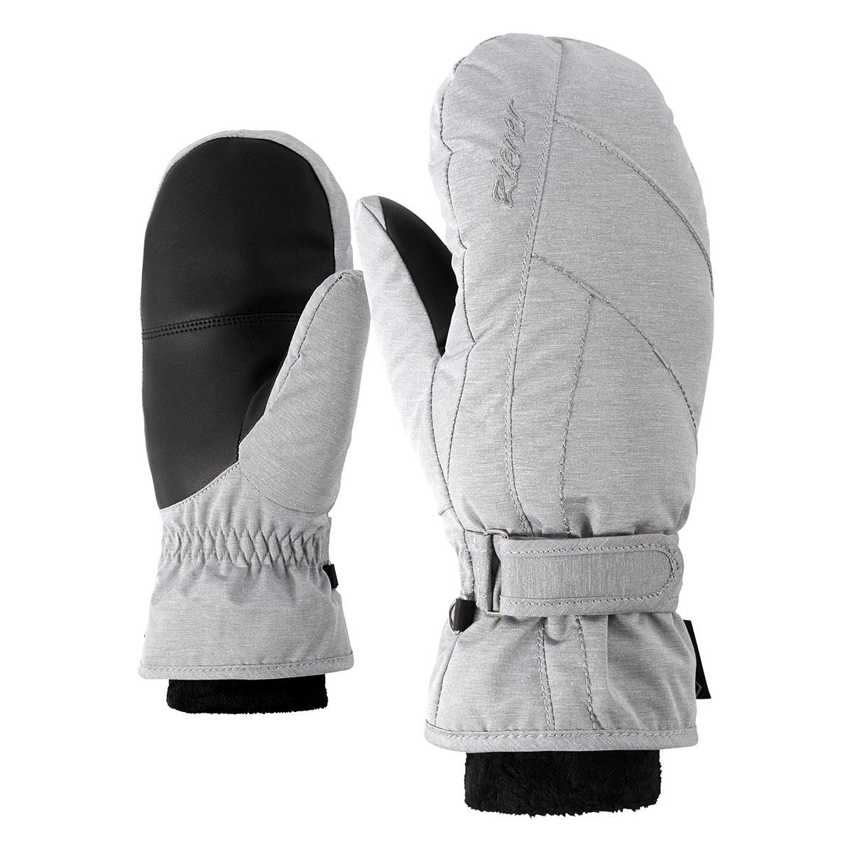 Kim lady glove Ziener grey melange