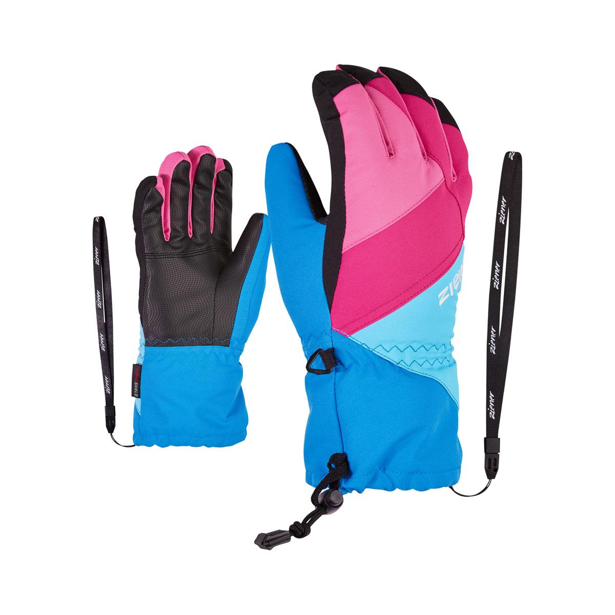 nuevo * Ziener estancos skihandschuhe ágil as R Junior guante Ziener