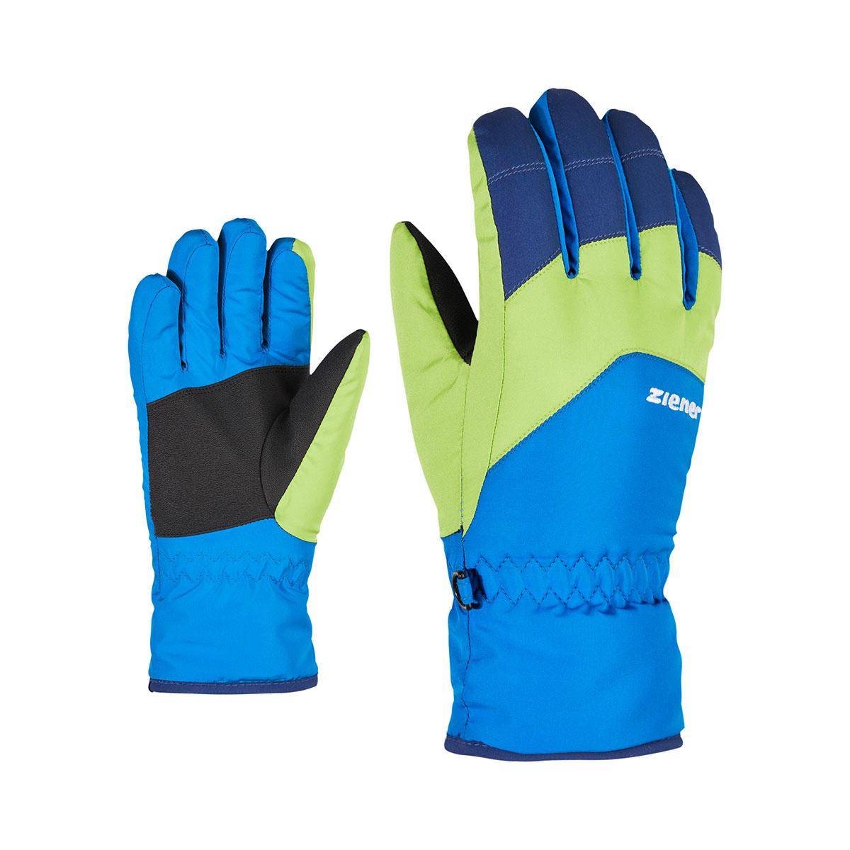 Ziener Ski mittens Kids GTX®|GORE-TEX®|Dark blue white Size L