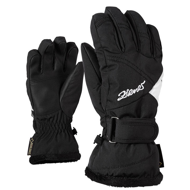 Ziener LED Mitten Girls Glove Junior Moufle de Ski Fille